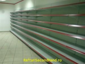 rafturi de perete pentru supermarket